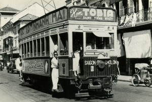 27 CFTI electric tram Cholon