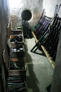 IMAGE 8 The weapons cellar at 287-70 Nguyễn Đình Chiểu