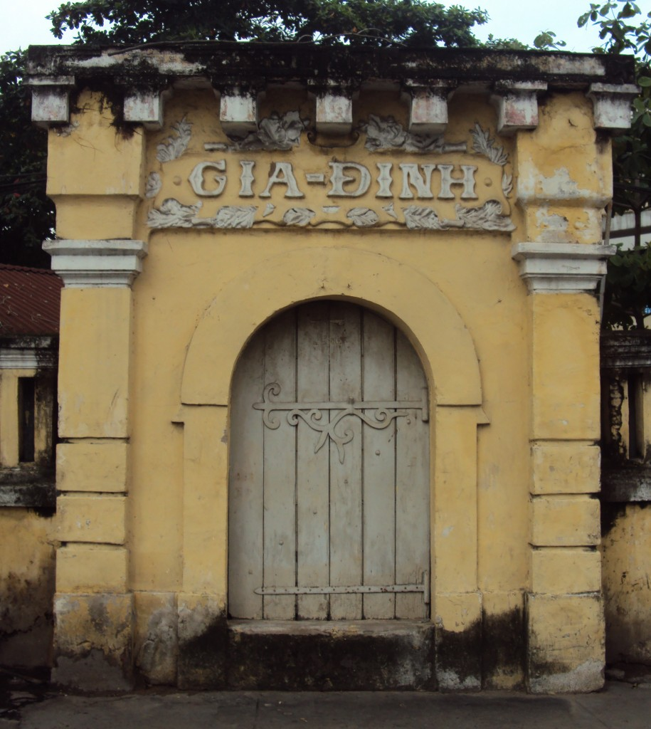"1. The so-called ""Gia Định Citadel Gate"""
