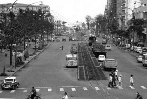 27 Ham Nghi with rail track 1960s