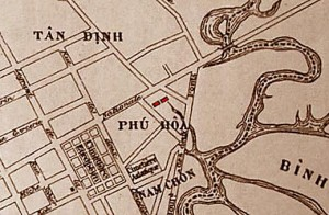 Saigon map 1903