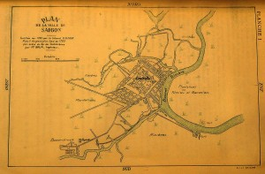 Saigon map 1793