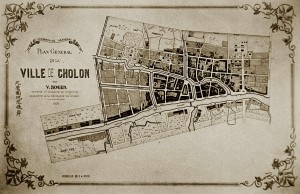 Cholon map 1874