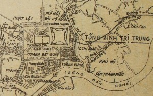 Saigon map early colonial 3