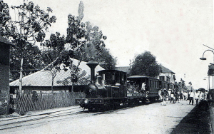 5 SGTVC No 3 'Le Myre de Vilers' pictured on a Sài Gòn-Chợ Lớn 'High Road' tramway service in 1905
