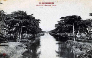 COCHINCHINE - CHOLON - Le Canal Fourès