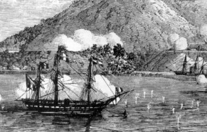 French_ships_at_Danang_1858