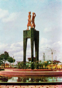 SAIGON - THE TRUNG SISTERS STATUE