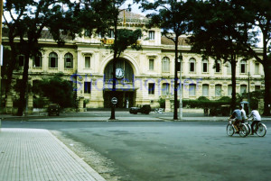 Saigon 1960 - Post Office