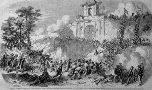 French capture Saigon in 1859 i